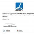 8 anos consecutivos PME Líder (2009-2016)