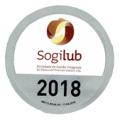 Selo de 2018 para o certificado Ecolub