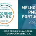 JCSS no TOP 5% MELHORES PME DE PORTUGAL / Edição 2020
