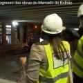 Conheça o progresso das obras do Mercado do Bolhão